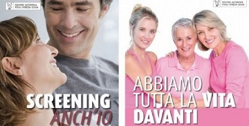 I tre programmi di screening